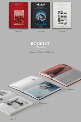 THE BOYZ REVEAL 1st Album CD+POSTER+Photo Book+Post Card+Film+Card+Fortune+GIFT 8