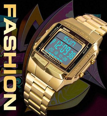 SKMEI Watch Luxury Sport Mens Watches Waterproof LED Digital Military Wristwatch 3