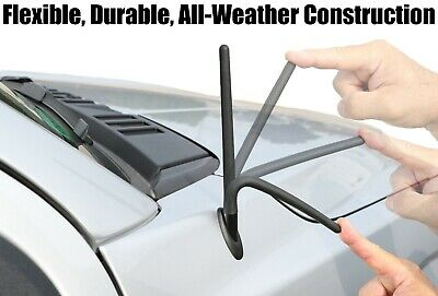 "13/"" SHORT Custom Flexible Rubber Antenna Mast FITS 1982-2005 Chevy Cavalier"