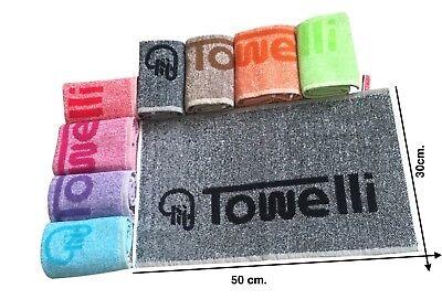 Bi-Color, TOWELLI Sports Gym Towel, 100%Cotton Jacquard, with New Colours 2