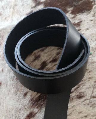 """Lederriemen Schwertgürtel """"Best"""" Gürtelriemen natur+schwarz+ d-braun bis 250 cm"""