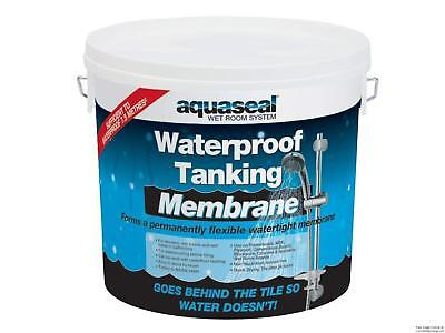Everbuild Aquaseal Tanking kit, Waterproof, Wetrooms, Showers, Bathrooms - AQ