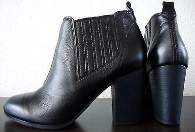 1 von 12 ESPRIT Stiefelette Damen Ankle Boots Leder Schuhe Cukka Schwarz Gr.38  NEU 398daacaa8