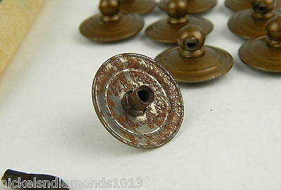 Antique Maddon Table Company Drawer Pulls / Knobs W/ Hardware Sack & Tag 3 • CAD $37.79