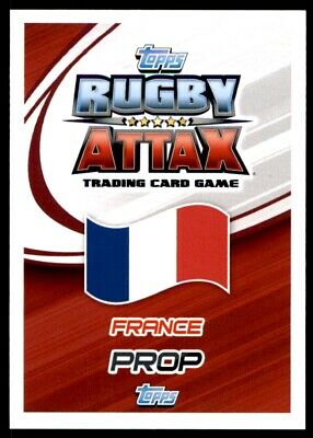 Topps Rugby Attax 2015 - Uini Atonio France No. 48 2