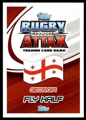 Topps Rugby Attax 2015 - Lasha Malaghuradze Georgia No. 173 2