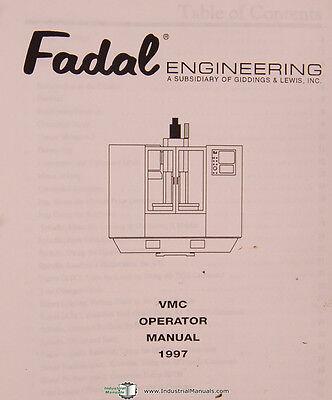 Remarkable Fadal Giddings Lewis Vmc Series Operations Manual Year 1997 Wiring Digital Resources Otenewoestevosnl