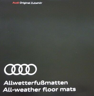 Audi A5 Coupe// Cabrio Gummimatten Audi A5 Audi Allwetterfussmatten ab Mj. 17