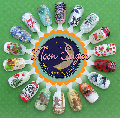 The Grinch Who Stole Christmas Nail Art Waterslide Decals - Salon Quality! 5