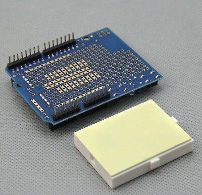 Prototyping Prototype Shield ProtoShield Mini Breadboard Arduino Uno Mega Due UK 3