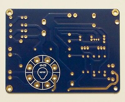 Authentic sound Tube line stage 12AY7 preamplifier PCB KSL M7 Line !