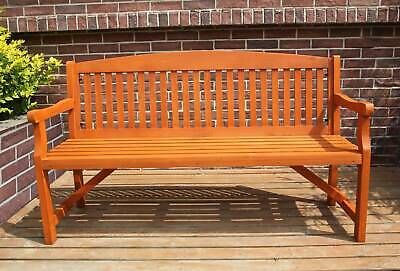 WestWood Garden Bench 3 Seater Chair Wood Patio Deck Patio Park Outdoor WGB02 2