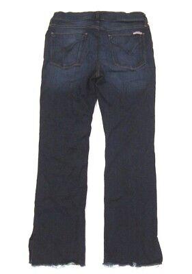 d40b409d03b ... Hudson Jeans Tilda Mid Rise Ankle Cigarette Raw Hems Slits Electrify  Blue 30 5