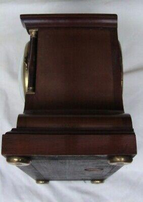 A  J. W. Benson Mahogany, Striking Mantel Clock. 9