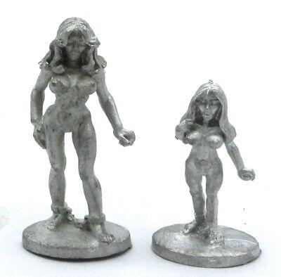 25mm Miniature Fantasy Captive Slave NIB 1 Ral Partha DF-248 Female Victim V