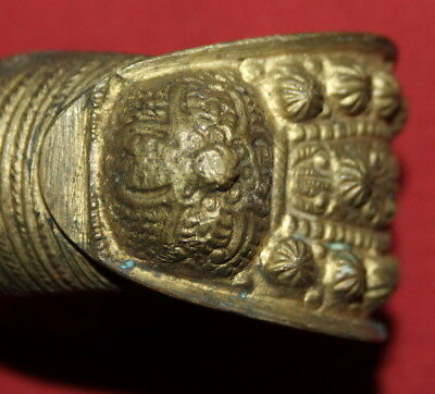 Ancient Greek Orthodox Folk Brass Fertility Bracelet 11