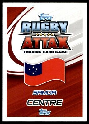 Topps Rugby Attax 2015 - George Pisi Samoa No. 185 2