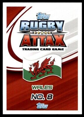 Topps Rugby Attax 2015 - Taulupe Faletau Wales No. 152 2