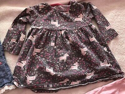 Beautiful Bundle Of Baby Girls Dresses Age 6-9 Months Inc. Next, F&F, George 2