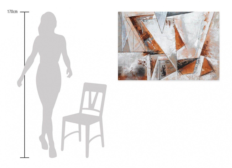 Acryl Gemälde 'GIER NACH FREIHEIT' | HANDGEMALT | Leinwand Bilder 120x80cm 7