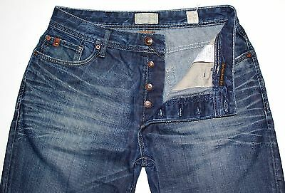 Jack /& Jones MOOTY BB785 Button Fly Bootcut Jeans W28 L32 RRP £70-75/% off!