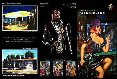 Volker Welz Kunstausstellung Flyer Saalbau Essen Restaurant Nelson Müller Koch 2
