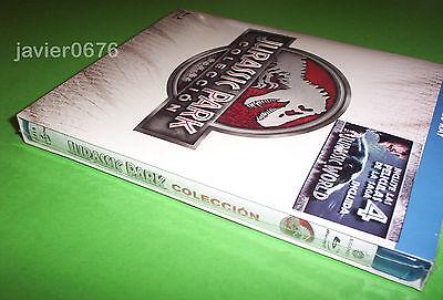 Jurassic Park La Coleccion En Blu-Ray Pack Nuevo Y Precintado 3