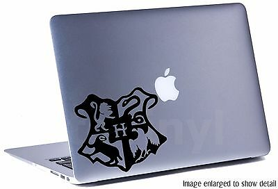 Hogwarts Harry Potter Emblem Crest Vinyl Decal Sticker Window Glass Laptop