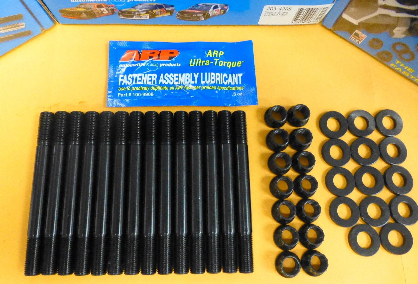 Fits Toyota 2JZGE//GTE Supra 3.0L Inline ARP 203-4205 Pro Series Head Stud Kit