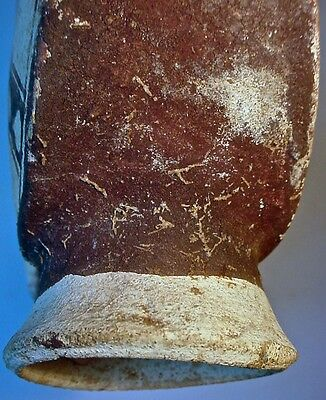 Pre-Columbian CHANCAY TWO-DRUM FIGURAL VESSEL PERU COA 11
