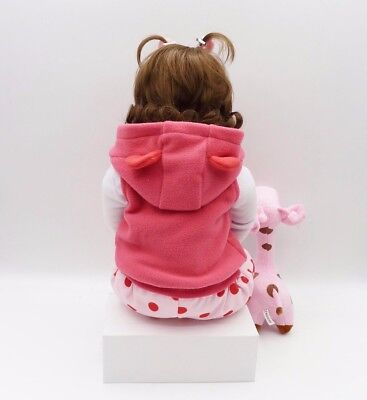 "19"" inch Baby Reborn Doll Vinyl Silicon Life Like Baby Toddler Girl Kids Reborn 11"