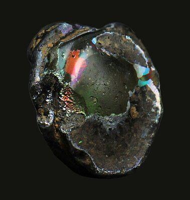 Aphrodite- Ancient Glass Applique Head Of A Female 3