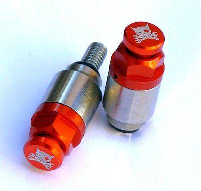Gabelentlüfter M4 Orange für WP Marzocchi Gabeln z.B KTM BETA HUSABERG SX EXC