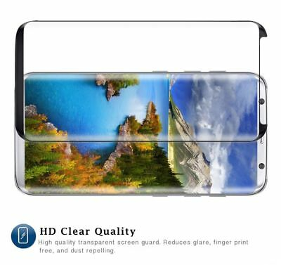 For Samsung Galaxy S9 S8 Plus Note 9 4D Full Cover Temper Glass Screen Protector 12