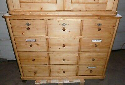 apotheken aufsatz schrank a apotheke alt antik apotheker schubladen massiv möbel 5