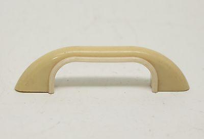 Pale Tan Vintage Curved Plastic Bridge Pull 3