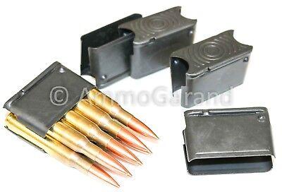 10ea M1 Garand 8rd Clips ENBLOC 8 Round Clip NEW USGI Spec US Made Parts 30-06 2