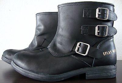 REPLAY NARIE BIKER Boots Damen Bootie Stiefelette Stiefel