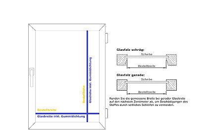 Blickdicht Plissee weiß 45x130 /& 85x130 cm SONDERPOSTEN Glasfalz-Montage