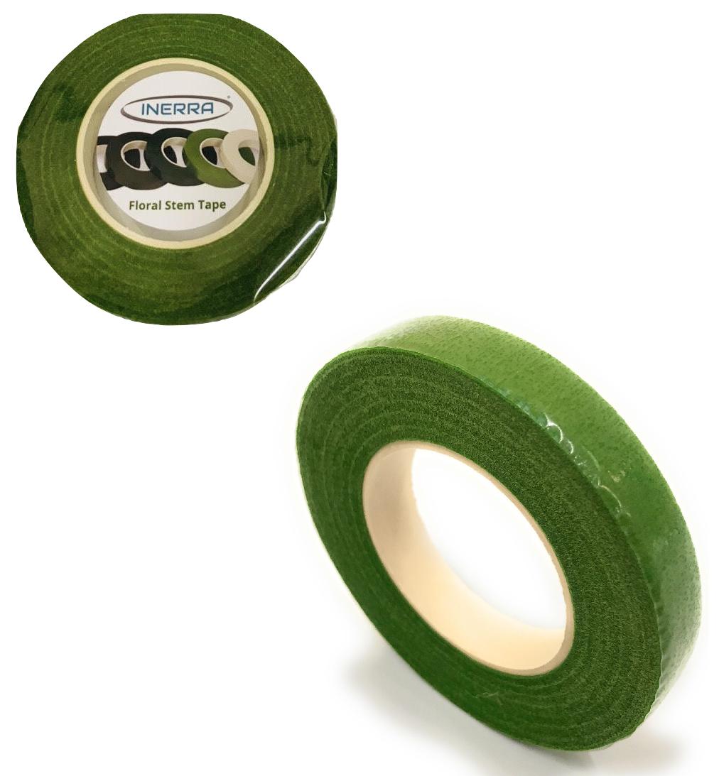 INERRA® Mix & Match 2 x Stem Tape 90ft x 13mm Brown Green White Florist Garden 6