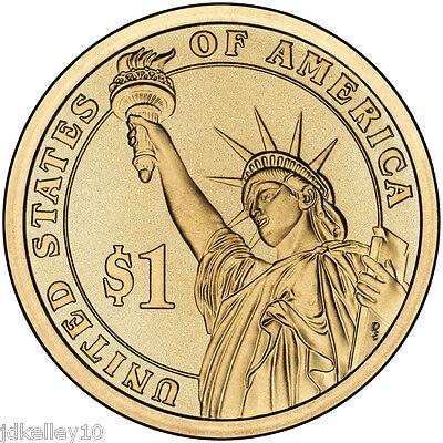 2015 P&d Presidential Dollar 8 Coin Set Truman Eisenhower Jfk Lbj Johnson 6