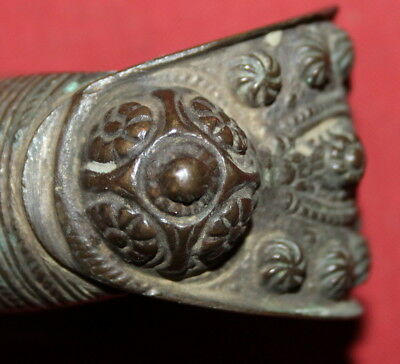 Antique Greek Orthodox Folk Bronze Fertility Bracelet