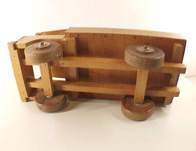 DEJOU CAMION PLATEAU en bois longueur 41 cm années 60 EUR
