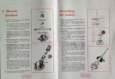 10 Vis, Rondelles, Écrous Pour Lampe Jielde 5