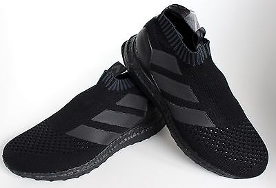los angeles b8258 3988d ADIDAS ACE 16+ Purecontrol Ultra Boost Triple Black BY9088 UK 5 7 8 9 10 New