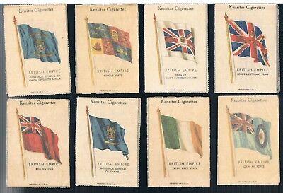 CHOOSE SILK KENSITAS J WIX NATIONAL FLAGS 1934