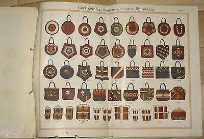 Carl Zeidler Korbwaren-Industrie Sonnefeld Katalog Musterbuch um 1935 Körbe 5