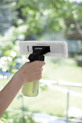 6 x KARCHER WV50 Window Vac Vacuum Cloths Covers Glass Pads + Cleaning Capsules 2