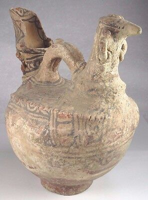 ANCIENT INDUS VALLEY DECORATED POTTERY JUG VESSEL c.2500 BC 2