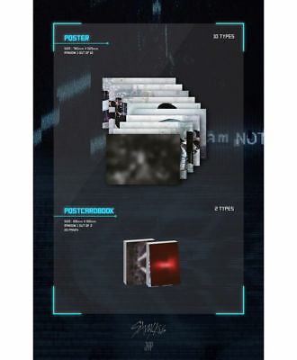 STRAY KIDS [I AM NOT] Album NOT Ver CD+Photo Book+3p Card+GIFT K-POP SEALED 8